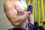 Muscular biceps poster