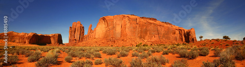 Panoramic View in Monument Valley, Navajo Nation, Arizona