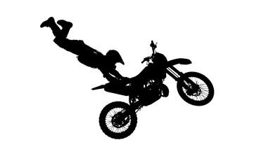 motocross rider making a high jump