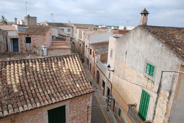 Calle de Bispo, Santanyi, Mallorca, Spanien, Balearen