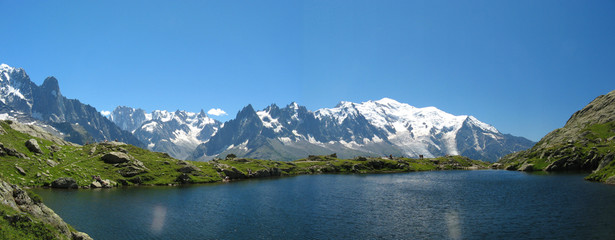 Lac de Cheserys, Chamonix, France