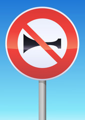 Signaux sonores interdits