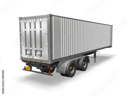 container camion remorque de ericos photo libre de droits 8912407 sur. Black Bedroom Furniture Sets. Home Design Ideas