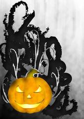 sfondo zucca halloween