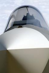 détail avion de chasse