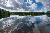 norwegian lake poster