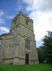 church in the english countryside
