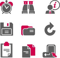 Color web icons, set 3