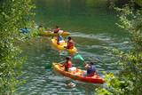 Fototapety canoe kayak