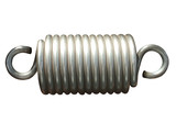 A Coiled Metal Chunky Spring. poster