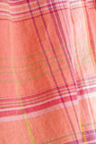 Pink Plaid Fabric poster