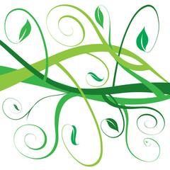 Motif végétal
