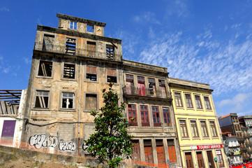 Immeuble abandonné à Porto