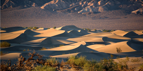 Mesquite Sand Dunes im Death Valley