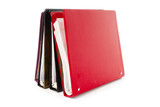 file folder, Ring Binder, with white background poster