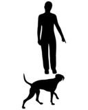 Hundetraining (Obedience), Befehl Hierher! poster