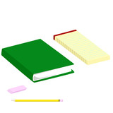 Stationery and book poster