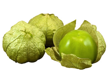 # Tomatillos with clipping path