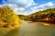 Cumberland River in fall