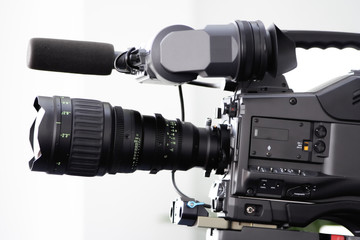 tv movie studio camera