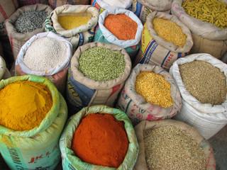Inde - légumes secs