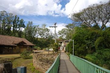 Passerelle de métal, Brésil