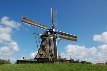 Mühle an der Nordsee Niederlande