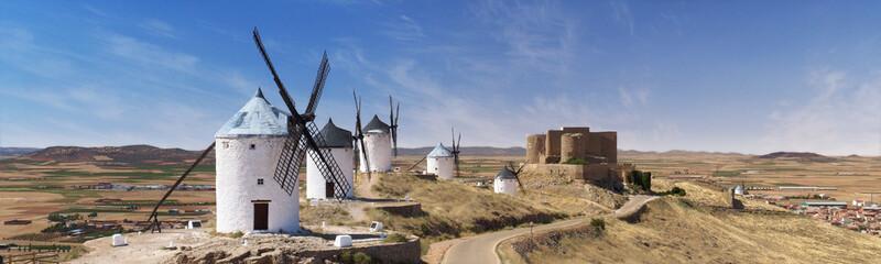 Panorama des moulins de Don Quichotte