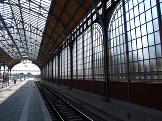 Bahnhof Lübeck Fenster