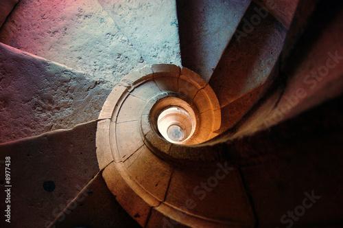 escalier en spirale by olivier poncelet royalty free stock photos 8977438 on. Black Bedroom Furniture Sets. Home Design Ideas