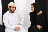 Beautiful Arab Wife Loves Husbands Sarcasm poster
