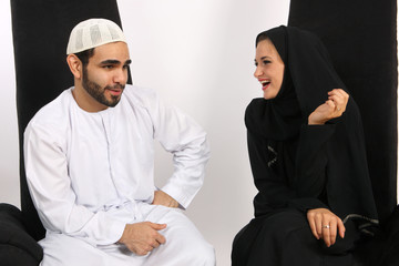 Beautiful Arab Wife Loves Husbands Sarcasm