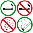 Rauchen vs. Antiraucher