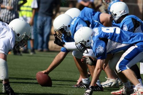 Leinwandbild Motiv Pro Football Play
