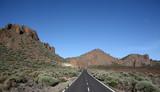 Road between volcanos poster