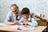 Fototapete Lehrer - Alpenwiese - Klasse / Schule
