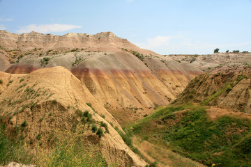 Hills of Badland National Park