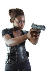 Woman with a weapon