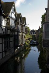 River scene in Canterbury