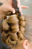 Hair detail. poster