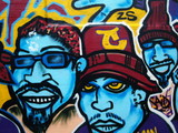 Fototapete Rap - Blick - Graffiti