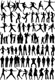 Fototapety Silhouette of people - Collection