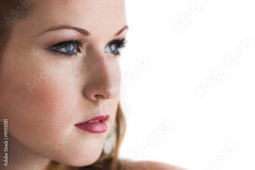 Close up of an attractive girl