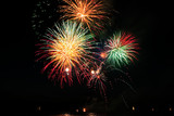 Fototapety coolourfull firework
