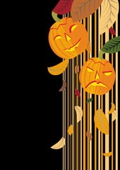 vector helloween background