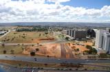 Ville en extension, Brailia, Brésil poster