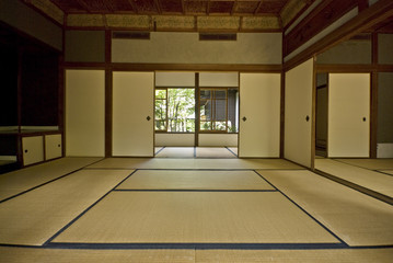 """Tatami"" and ""Shoji"" the old Japanese room."