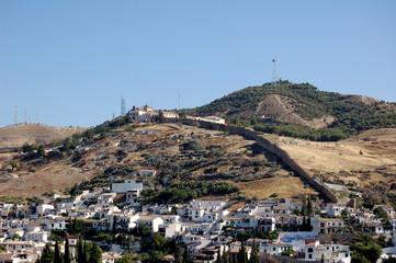 murailles nasrides en andalousie