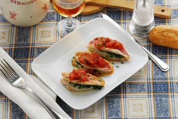 Triglie in rosso - Secondi di pesce Toscana