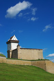 Herman castle in Narva. Estonia poster